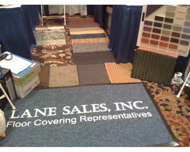 Lane Sales Logo Mat