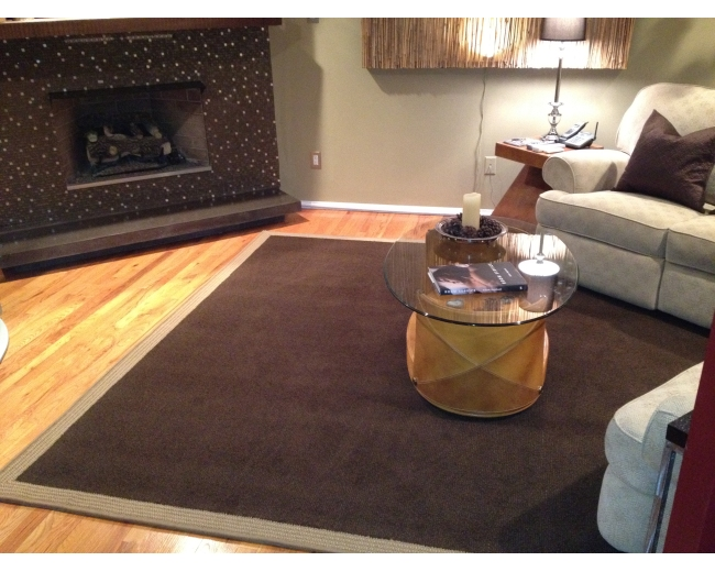 J.MISH Mills, Fabricated Area Rug from Broadloom